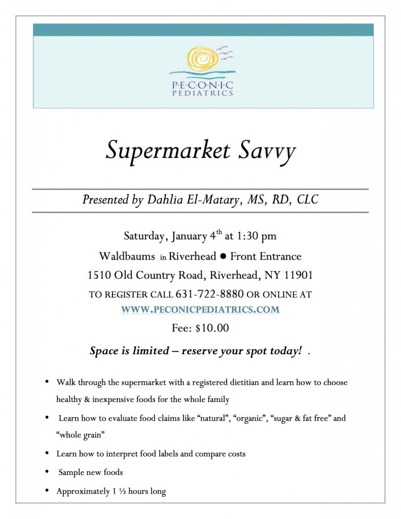 Supermarket Savvy Flyer