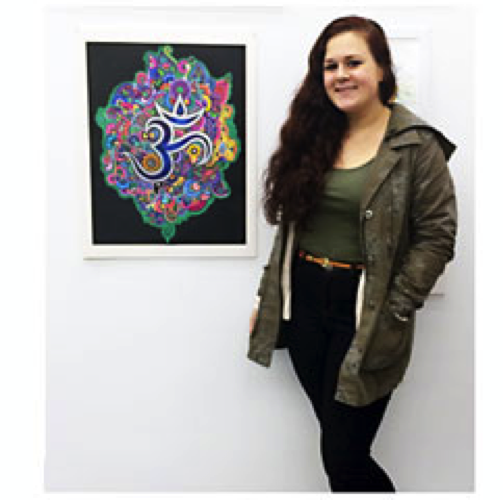 Peconic Pediatrics Patient Spotlight features Melissa Pressler, a talented artist from Riverhead High School