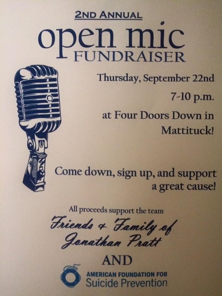 2nd Annual Open Mic Fundraiser