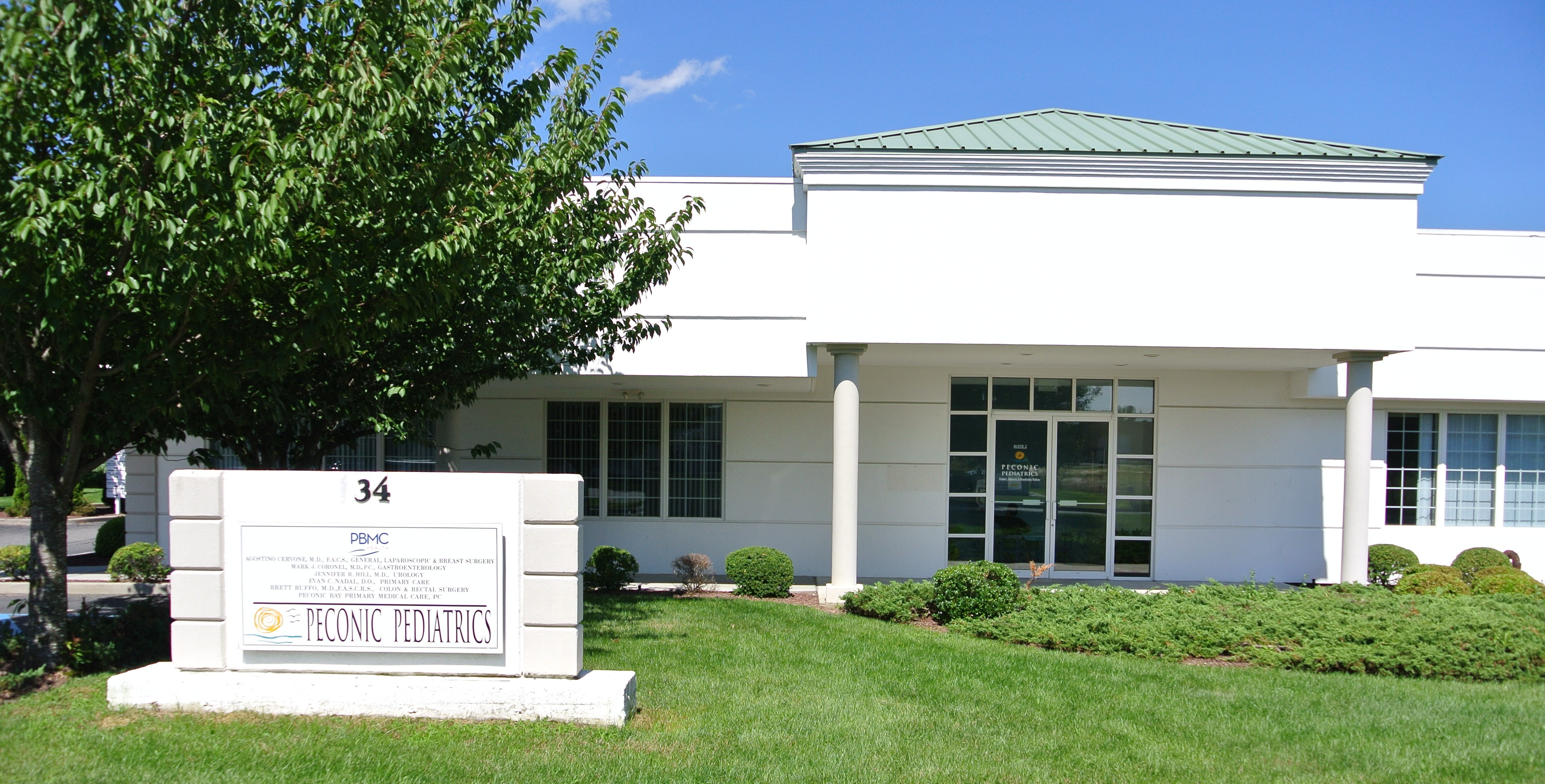 Peconic Pediatrics location in Riverhead NY