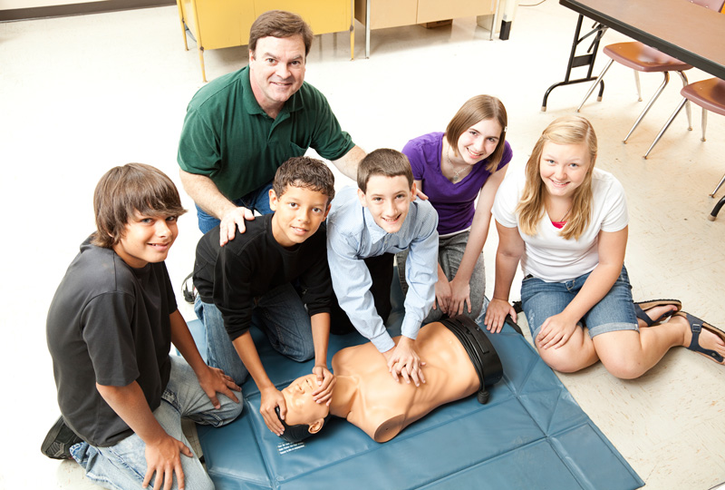 CPR Class at Peconic Pediatrics in Riverhead, NY