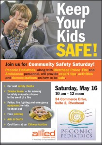 Join Peconic Pediatrics for Community Safety Saturday