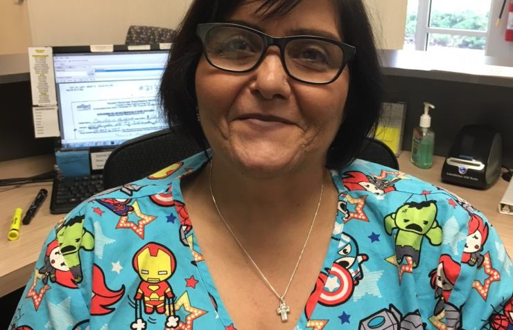 Joyce Marrone – Employee of the month!
