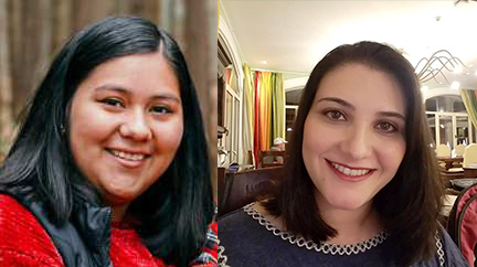 Maria & Brenda- Employees of the Month August & September
